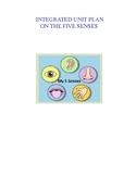 5 Senses Unit Plan