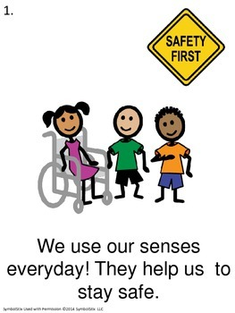 5 Senses Unit for Early Childhood or Special Education