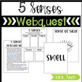 5 Senses Webquest