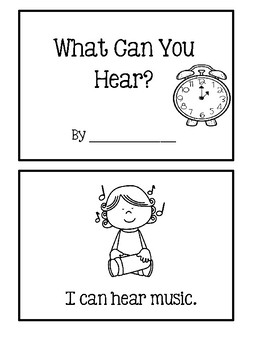 5 Senses - What Can You Hear?  Flashcards