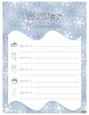 5 Senses Winter Poem