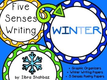 5 Senses Winter Writing