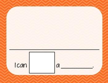 5 Senses Worksheet/Book- Orange