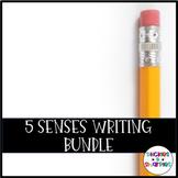 5 Senses Writing Bundle