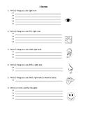 5 Senses: Writing Tool to Refocus and Become Calm