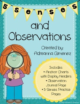Using the 5 Senses and Making Thoughtful Observations
