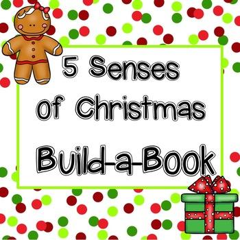 5 Senses of Christmas Build a Book