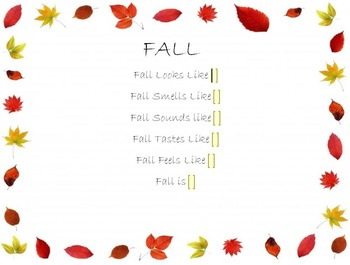 Computer Class - 5 Senses of FALL
