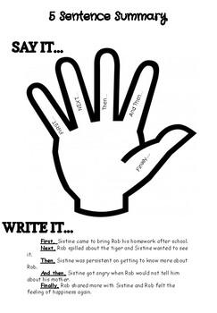 5 Sentence Summary