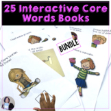 AAC Core Vocabulary Bundle 5 sets of Interactive Books for