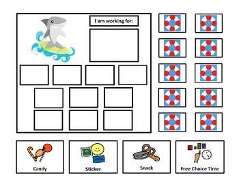 5 Shark Token Board Bundle - 10 Tokens