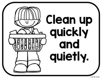 Morning Tub Rules for Little Learners