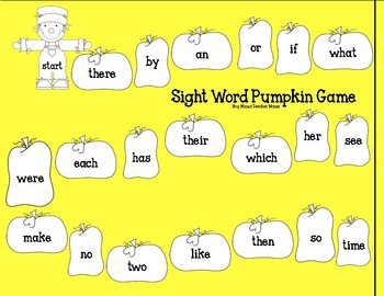 5 Simple Game Boards for Sight Word Practice