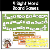 4 Simple Game Boards for Sight Word Practice