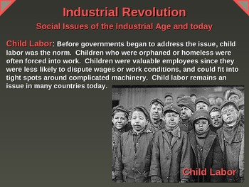 5 Social Issues of the Industrial Revolution (with links to 8 relevant videos)