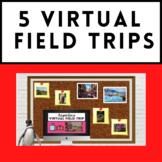 Spanish Sub Plans - 5 Virtual Field Trips