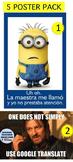 5 Spanish Posters