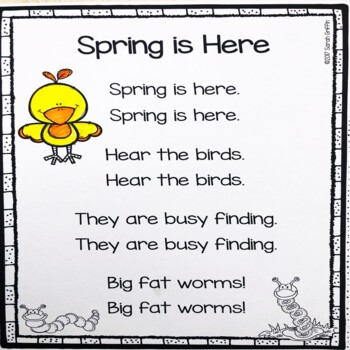 5 spring poems for kids bundle by sarah griffin tpt 5 spring poems for kids bundle mightylinksfo