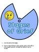 5 Stages of Grief and Loss Wheel with Coping Skills