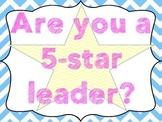 5 Star Leadership Posters