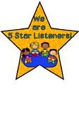 5 Star Listening Chart