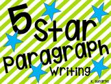 5 Star Paragraph Writing