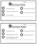 5 Star Power Writing Success Criteria and Feedback
