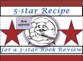 "Book Review ""Recipe"" Template"