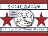 "Book Review ""Recipe"" Template"