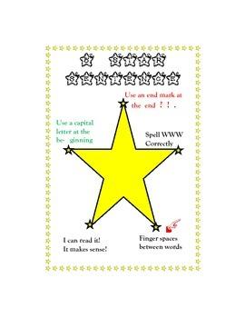 5 Star Sentence Poster