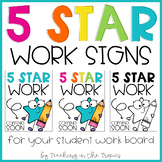 5 Star Work Coming Soon Signs