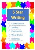 5 Star Writing Checklist