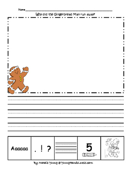 5 Star Writing- Gingerbread ran away!