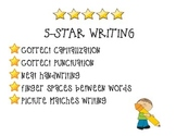 5-Star Writing Poster
