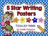 5 Star Writing Poster Set