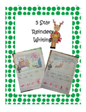 5 Star Writing- Reindeer