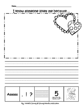 5 Star Writing- Valentine Prompts