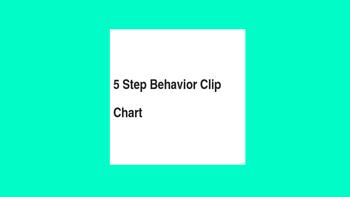 5 Step Behavior Clipchat