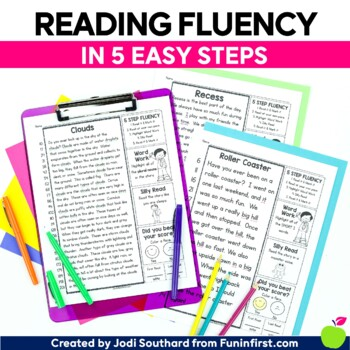 5 Step Fluency - Distance Learning