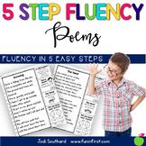 5 Step Fluency Poems