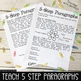 5 Step Paragraph Structure