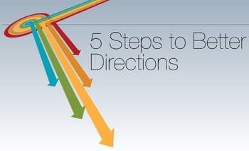 5 Steps to Better Directions