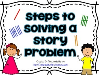 5 Steps to Solving a Story Problem
