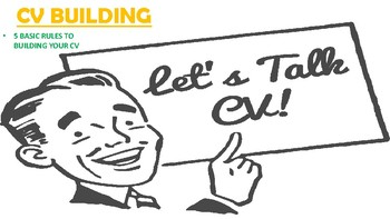 5 Steps to building your CV