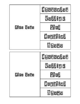 5 Story Elements Foldable
