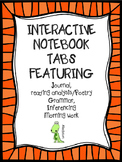 5 Subject Notebook Tab Dividers