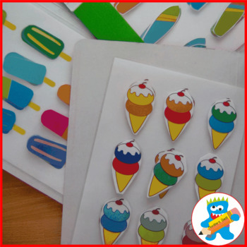 5 Summer File Folder Games
