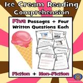 Ice Cream Reading Comprehension