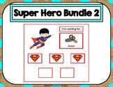 5 Super Hero Token Board Bundle - 5 Tokens
