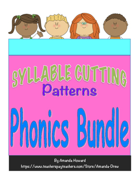 5 Syllable Cutting Patterns Leveled Bundle!